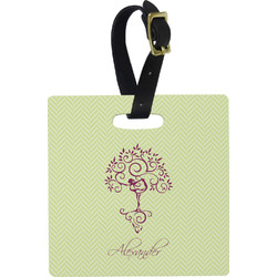 Yoga Tree Luggage Tags (Personalized)
