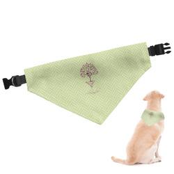 Yoga Tree Dog Bandana (Personalized)