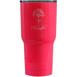 Yoga Tree RTIC Tumbler - Pink (Personalized)