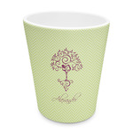 Yoga Tree Plastic Tumbler 6oz (Personalized)