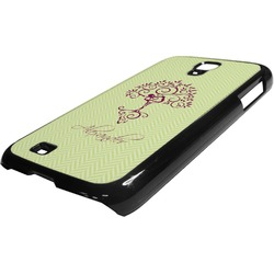 Yoga Tree Plastic Samsung Galaxy 4 Phone Case (Personalized)