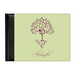 Yoga Tree Genuine Leather Guest Book (Personalized)