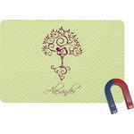 Yoga Tree Rectangular Fridge Magnet (Personalized)
