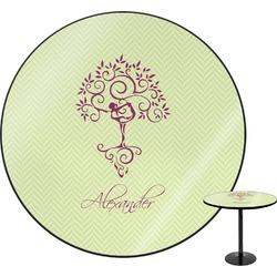 Yoga Tree Round Table (Personalized)