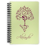 Yoga Tree Spiral Bound Notebook (Personalized)