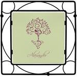 Yoga Tree Square Trivet (Personalized)