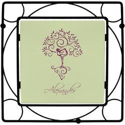 Yoga Tree Trivet (Personalized)