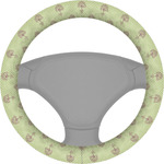 Yoga Tree Steering Wheel Cover (Personalized)