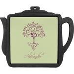 Yoga Tree Teapot Trivet (Personalized)