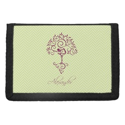 Yoga Tree Trifold Wallet (Personalized)