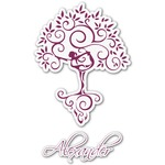 Yoga Tree Graphic Decal - Custom Sizes (Personalized)