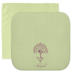 Yoga Tree Facecloth / Wash Cloth (Personalized)