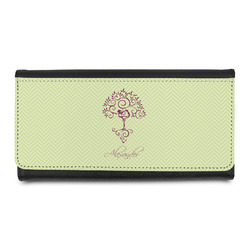 Yoga Tree Leatherette Ladies Wallet (Personalized)