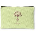 Yoga Tree Zipper Pouch (Personalized)