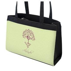 Yoga Tree Zippered Everyday Tote (Personalized)