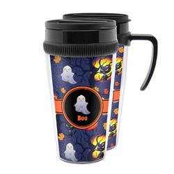 Halloween Night Acrylic Travel Mugs (Personalized)
