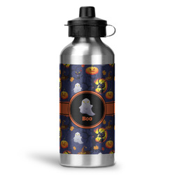 Halloween Night Water Bottle - Aluminum - 20 oz (Personalized)