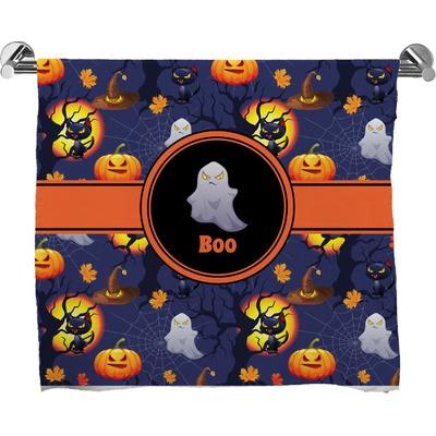 Halloween Night Bath Towel (Personalized)