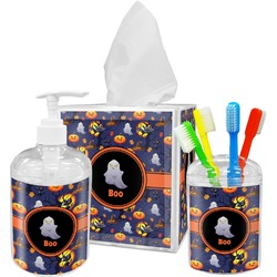 Halloween Night Bathroom Accessories Set (Personalized)