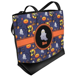 Halloween Night Beach Tote Bag (Personalized)