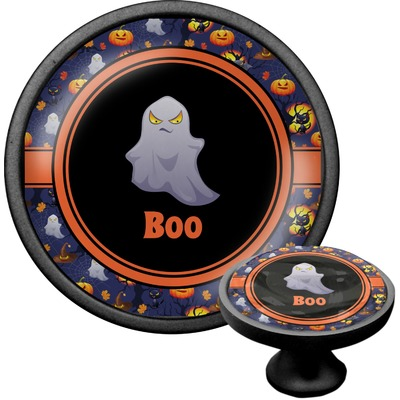 Halloween Night Cabinet Knob (Black) (Personalized)