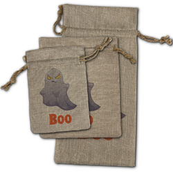 Halloween Night Burlap Gift Bags (Personalized)