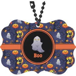 Halloween Night Rear View Mirror Charm (Personalized)