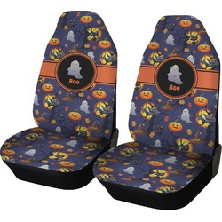 Halloween Night Car Seat Covers (Set of Two) (Personalized)