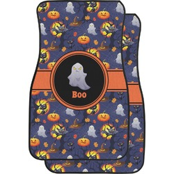 Halloween Night Car Floor Mats (Front Seat) (Personalized)
