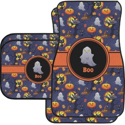 Halloween Night Car Floor Mats Set - 2 Front & 2 Back (Personalized)