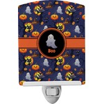 Halloween Night Ceramic Night Light (Personalized)
