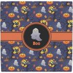 Halloween Night Ceramic Tile Hot Pad (Personalized)