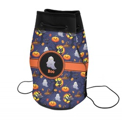 Halloween Night Neoprene Drawstring Backpack (Personalized)