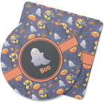 Halloween Night Rubber Backed Coaster (Personalized)