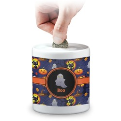 Halloween Night Coin Bank (Personalized)