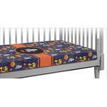 Halloween Night Crib Fitted Sheet (Personalized)
