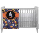 Halloween Night Crib Comforter / Quilt (Personalized)