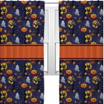 Halloween Night Curtains (2 Panels Per Set) (Personalized)