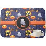 Halloween Night Dish Drying Mat (Personalized)