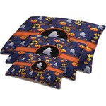 Halloween Night Dog Bed w/ Name or Text