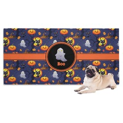 Halloween Night Dog Towel (Personalized)