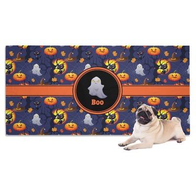 Halloween Night Dog Towel (Personalized)