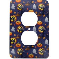 Halloween Night Electric Outlet Plate (Personalized)