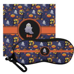 Halloween Night Eyeglass Case & Cloth (Personalized)
