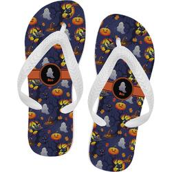 Halloween Night Flip Flops - XSmall (Personalized)