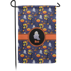 Halloween Night Garden Flag - Single or Double Sided (Personalized)