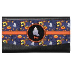 Halloween Night Genuine Leather Ladies Wallet (Personalized)