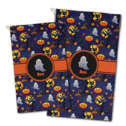 Halloween Night Golf Towel - Full Print w/ Name or Text