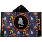Halloween Night Kids Hooded Towel (Personalized)