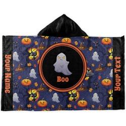 Halloween Night Kids Hooded Towel (Personalized)